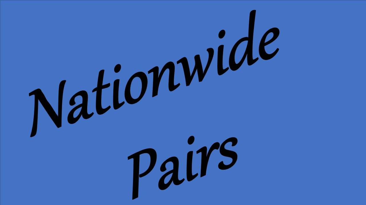 Nationwide Pairs