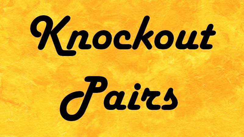 Knockout Pairs