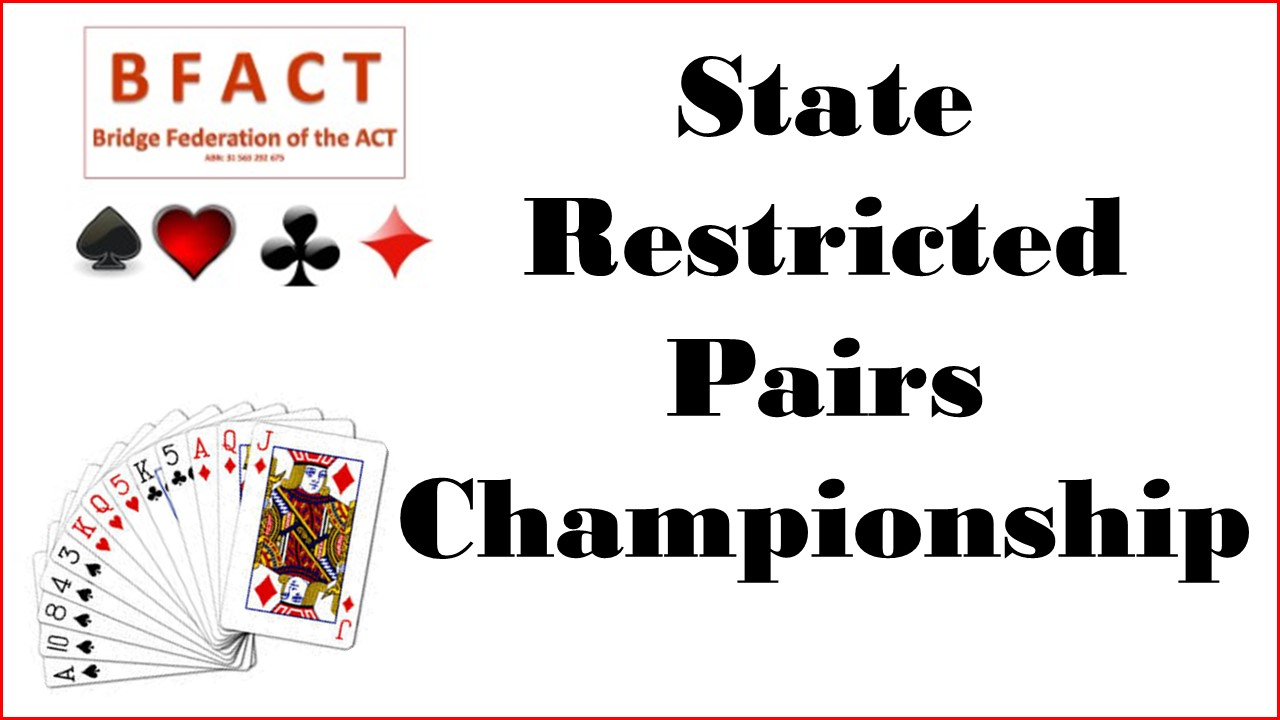 State Restricted Pairs Championhip