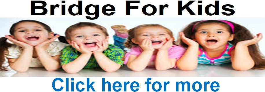 Bridge for Kids General 10 & 17th July 10am click here for more