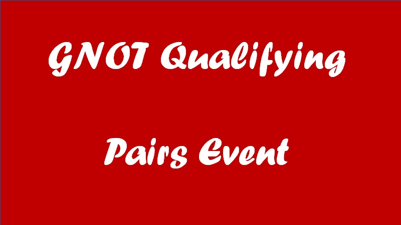 GNOT Qualifying Pairs Event