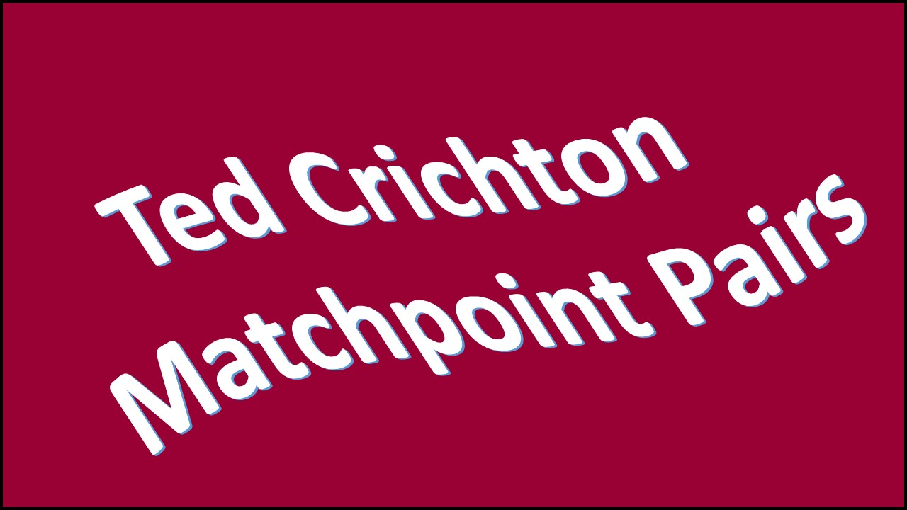 Ted Crichton Pairs